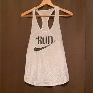 """Nike """"Run"""" tank"""